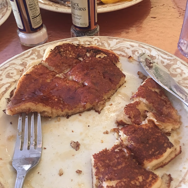 This is the best gluten-free pancake I've every had!