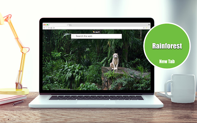 Rainforest Wallpapers New Tab Theme