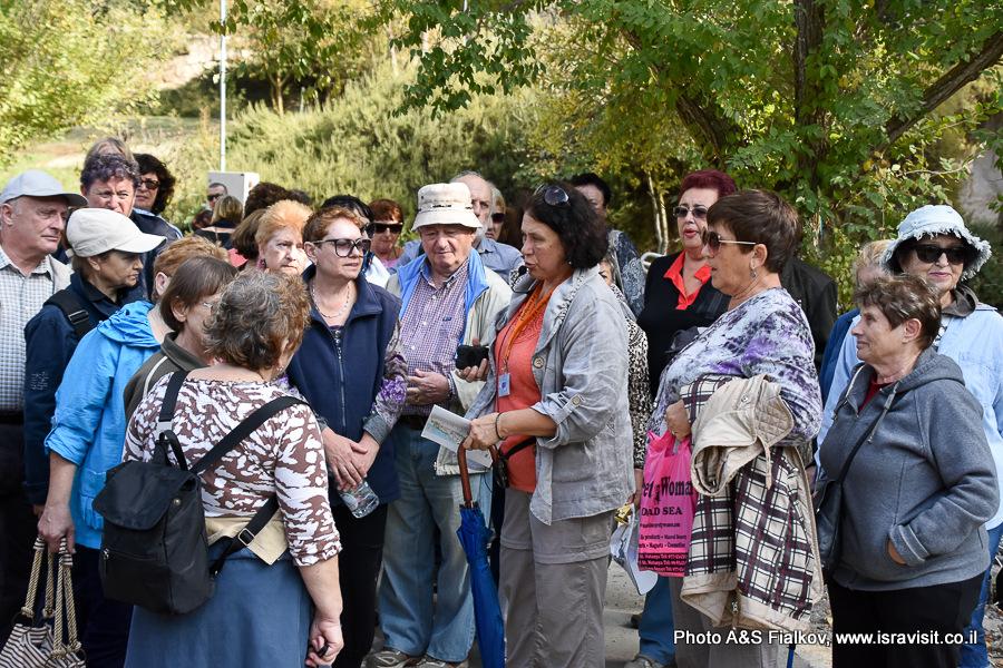 Экскурсия гида по Израилю Светланы Фиалковой в Бейт Шеарим.