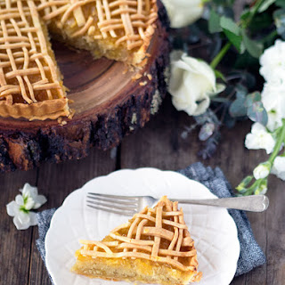 Scrumptious Pineapple Almond Tart