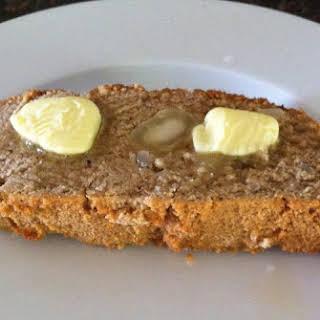 Paleo Coconut Flour Macadamia Nut Banana Bread.