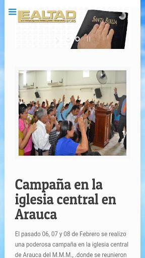 Iglesia MMM Fortul Arauca