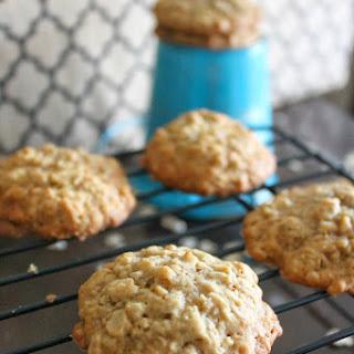 Banana-Toffee Oatmeal Cookies