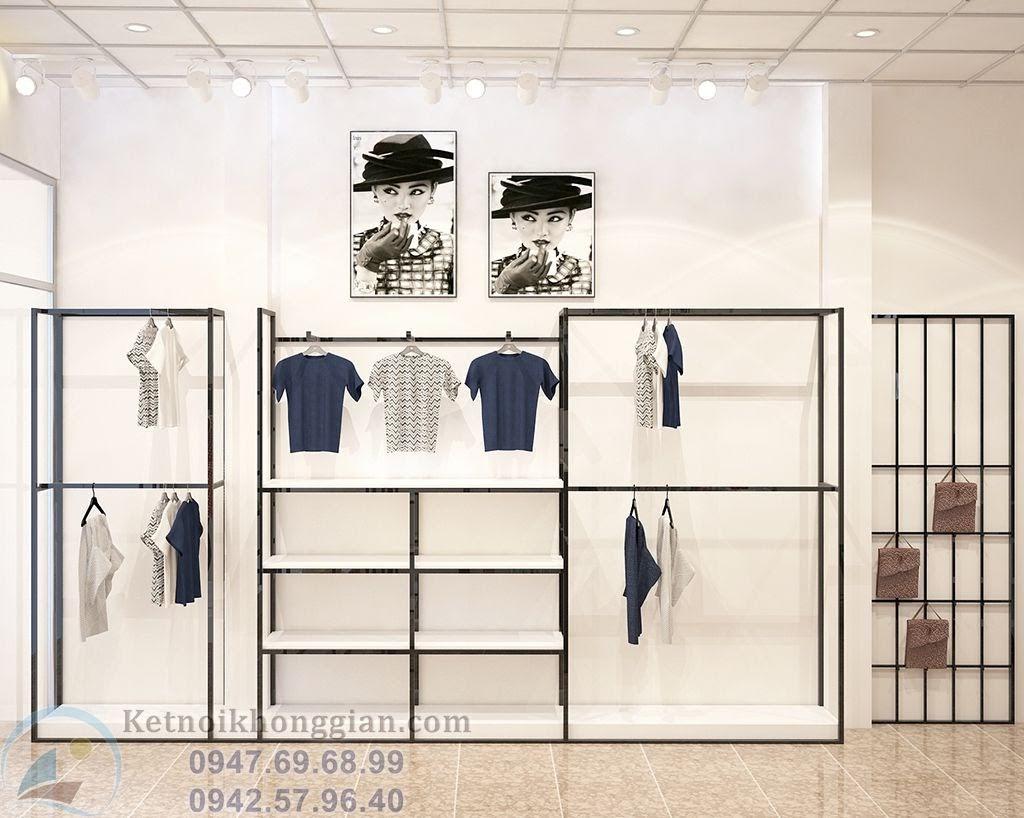 thiết kế shop thời trang đẳng cấp chất lượng