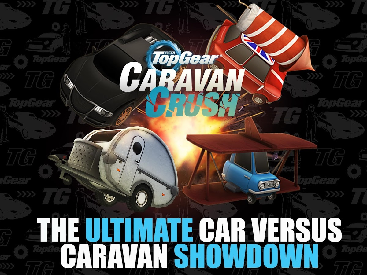 Top Gear: Caravan Crush- screenshot