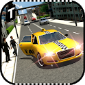 Modern Taxi Driving 3D icon