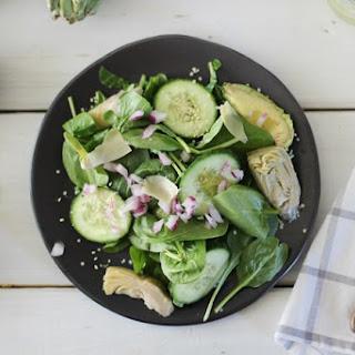 Avocado, Artichoke and Spinach Salad
