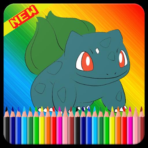 ColoringBook For Pokemo Fans