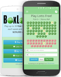 BoxLotto Free Lotto- screenshot thumbnail