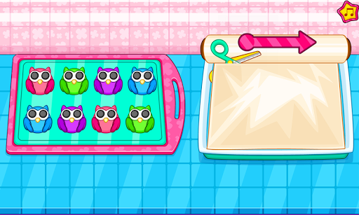 Cook owl cookies for kids 1.0.2 screenshots 5