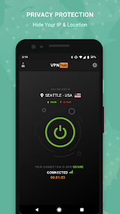 VPNhub Best Free Unlimited VPN – Secure WiFi Proxy (MOD APK, Premium) v3.7.2 2