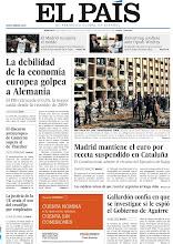 Photo: La debilidad de la economía europea golpea a Alemania; matanza en la Universidad de Alepo (Siria) y Madrid mantiene el euro por receta suspendido en Cataluña, en la portada de EL PAÍS, edición nacional, del miércoles 16 de enero de 2013 http://cort.as/3Bmc