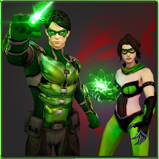 Green Mortal Ring Hero