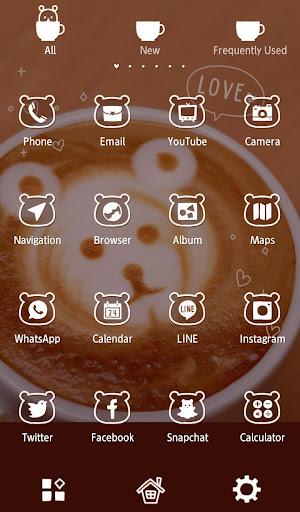 Cute Wallpaper Bear Coffee 1.0.1 Windows u7528 3