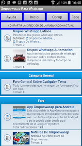 Grupos Wasap para whatsapp screenshot 2