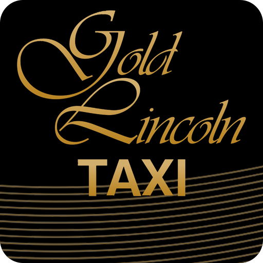 Gold Lincoln Taxi