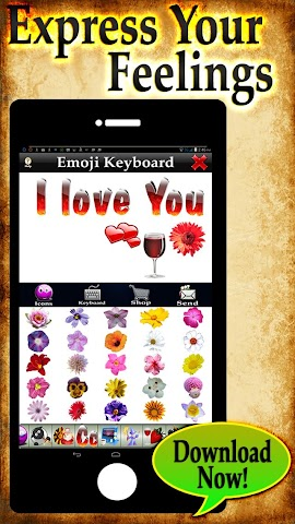 android Emoji 3 - More Emoticon Packs Screenshot 0