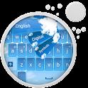 ブルーHD 2キーボード icon