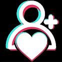 TikBoost: tiktok followers & fans & tiktok like icon