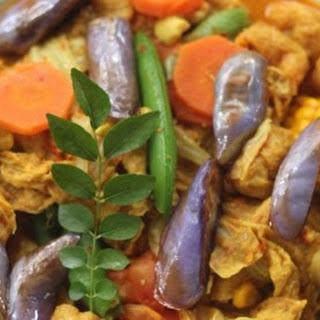 Vegetarian Nasi Lemak Rice Recipes.