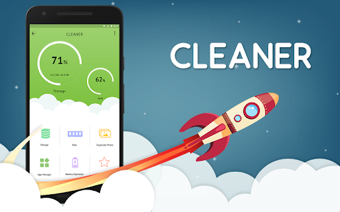 Cleaner:- Ram Booster & Battery Optimizer Screenshot