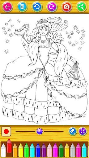 Princess Coloring Book 1.21.2 screenshots 9