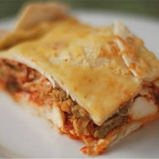 Uncle Will's Mexican Lasagna.