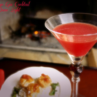Blood Orange Gin Cocktail.