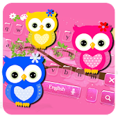 Hued Owl Keyboard Theme