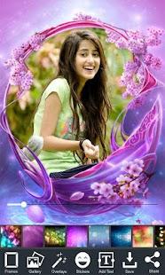 Frame Photo Love Flower Tembus Pandang - náhled