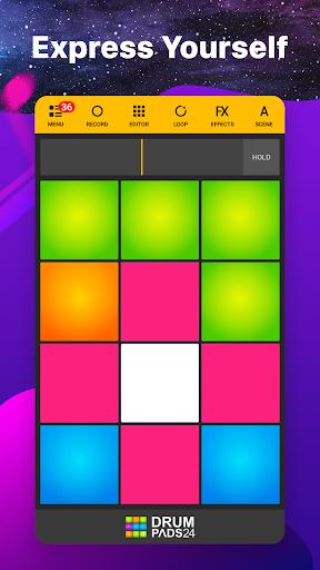 Drum Pads 24 - Music Maker 3.8 screenshots 1