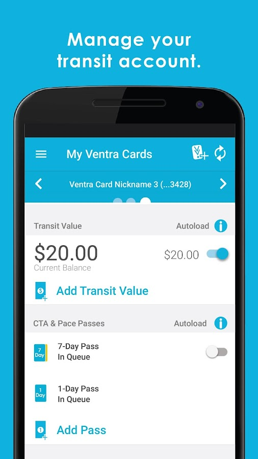 Ventra- screenshot