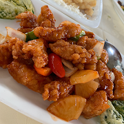 J2. Sweet and Sour Sliced Pork 菠蘿咕嚕豬爽肉