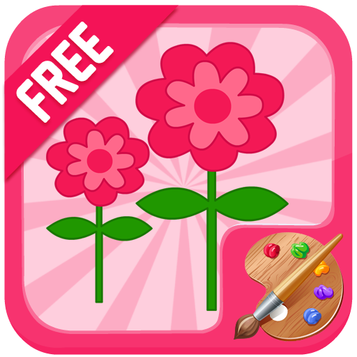 Flower Coloring Game