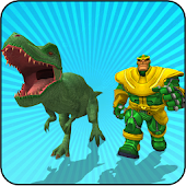 Tải Multi Dino Infinity Hero vs Futuristic Villains miễn phí