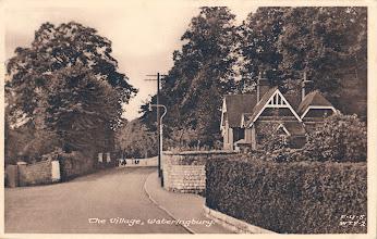 Photo: Tonbridge Road Wateringbury looking towards Mereworth with Love Lane bottom left.