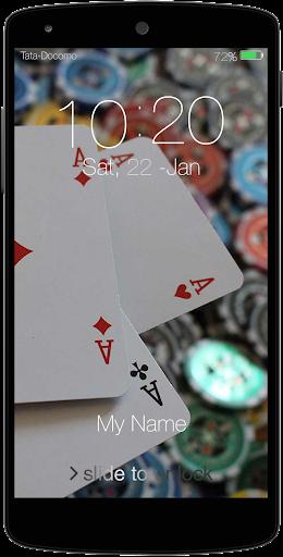 Poker Passcode LockScreen