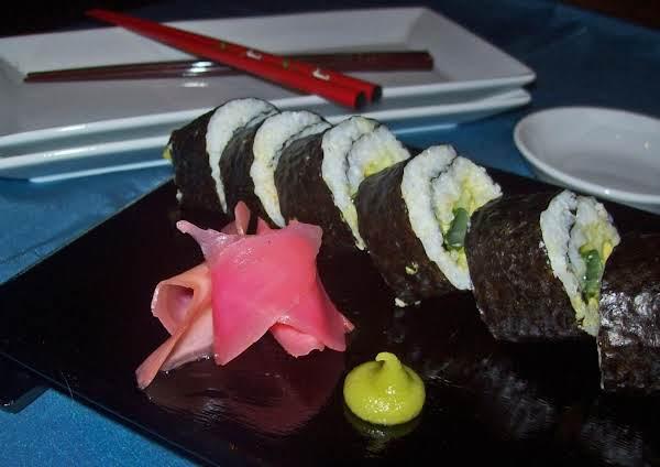 Avocado And Shrimp Sushi Recipe