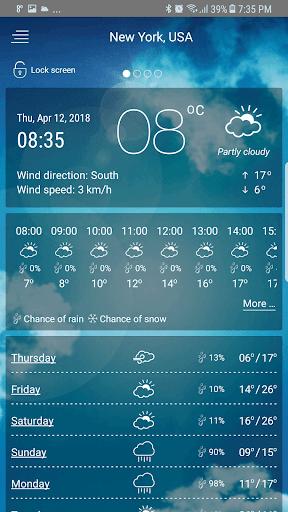 حالة الطقس screenshot 2