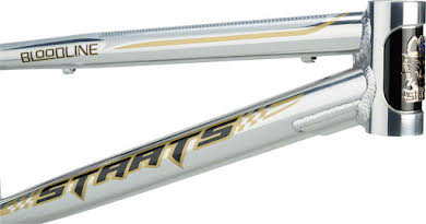 """Staats Bloodline SuperMoto30 Junior Frame 18.5"""" Top Tube Silver Arrow Polished alternate image 2"""