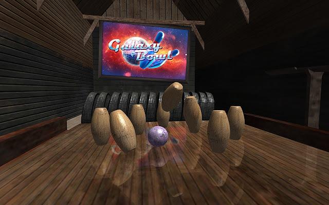 Galaxy Bowling 3D (Kegel) - Chrome Web Store