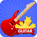 Hot star Guitar icon