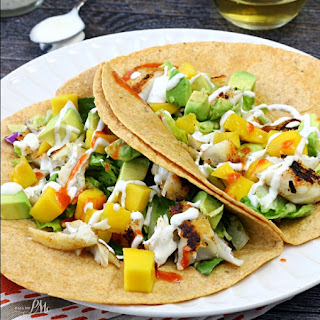 Fish Tacos with Mango Avocado Relish / Call Me PMc
