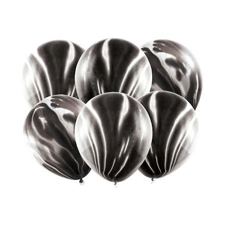 Ballonger - Marmor svart