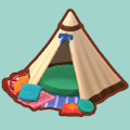 カントリーなテント