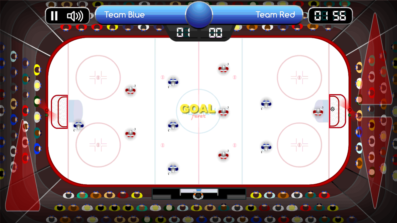 Hockey Fever - table game- screenshot