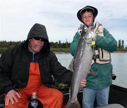 Photo: A Plug caught Kasilof river King salmon.
