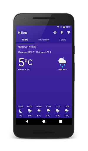 Meteo 2.0.8 screenshots 1