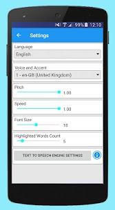 Text Voice Text-to-speech and Audio PDF Reader apk download 4