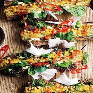 Valli Little's zucchini slice.